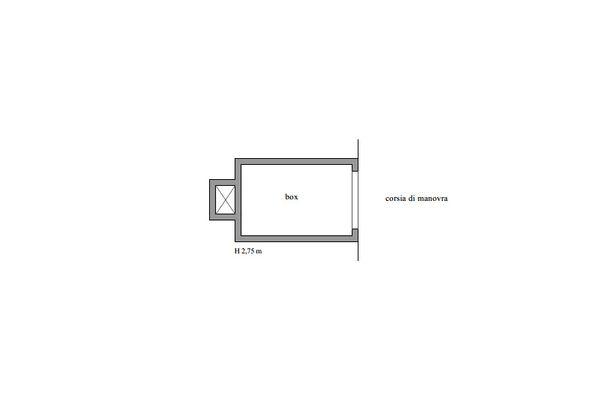 Immagine n2 - Planimetria - Piano terra - Asta 11601