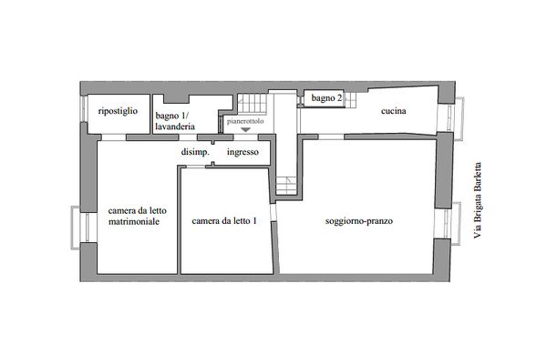 Immagine n1 - Planimetria - Piano terzo - Asta 11602