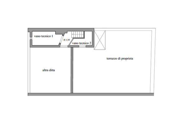 Immagine n2 - Planimetria - Piano quarto - Asta 11602