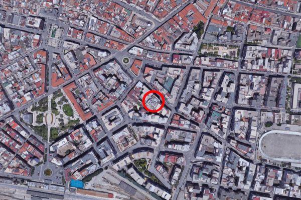 Immagine n0 - Planimetria - Vista aerea - Asta 11605