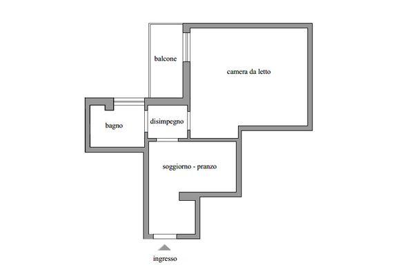 Immagine n1 - Planimetria - Piano secondo - Asta 11606