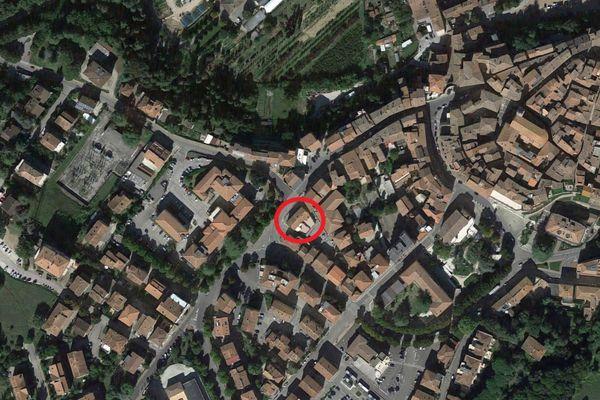 Immagine n0 - Planimetria - Vista aerea - Asta 11637