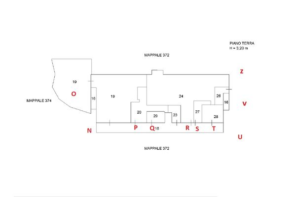 Immagine n0 - Planimetry - Elaborate ground floor - Asta 11643