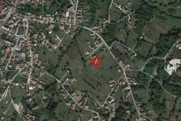 Immagine n1 - Planimetria - Vista aerea - Asta 11689