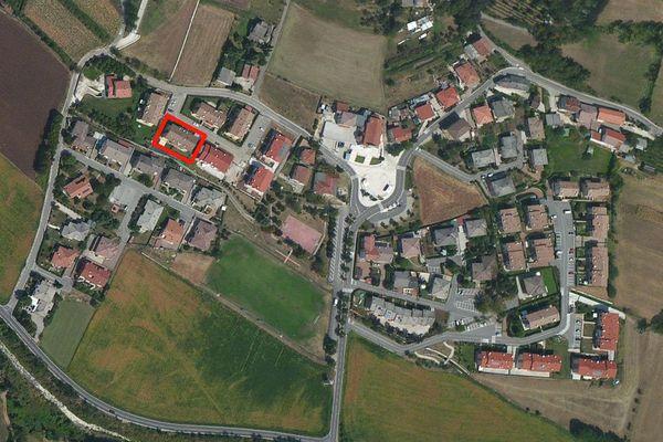 Immagine n0 - Planimetria - Vista aerea - Asta 1169