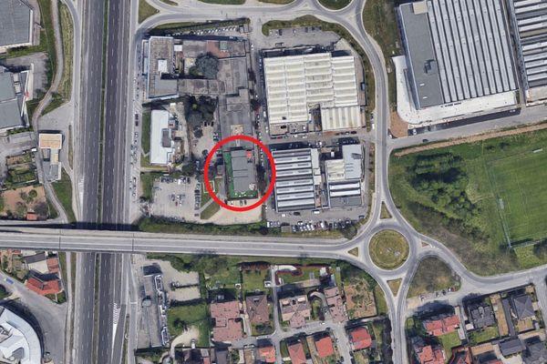 Immagine n0 - Planimetria - Vista aerea - Asta 11690