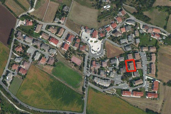 Immagine n2 - Planimetria - Vista aerea - Asta 1172