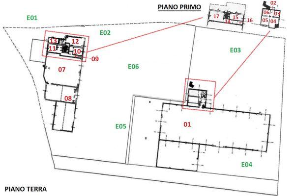 Immagine n4 - Planimetria - Elaborato grafico - Asta 11738