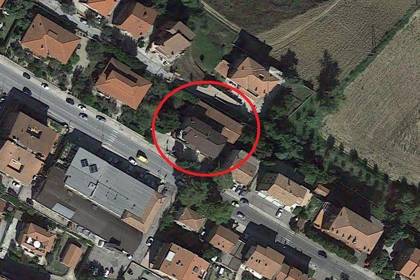 Immagine n1 - Planimetria - Vista aerea - Asta 11751