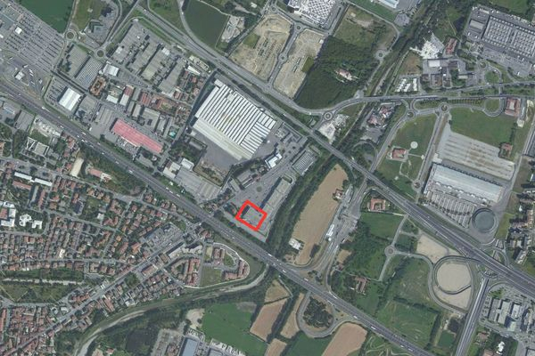 Immagine n0 - Planimetria - Vista aerea - Asta 1176
