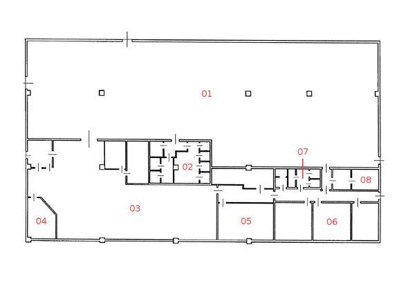 Immagine n7 - Planimetria - Piano interrato - Asta 1176