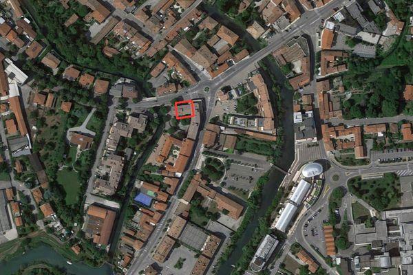 Immagine n0 - Planimetria - Vista aerea - Asta 1178