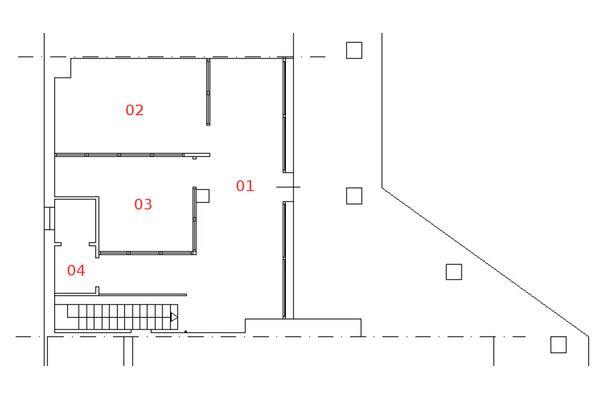 Immagine n3 - Planimetria - Piano terra - Asta 1178