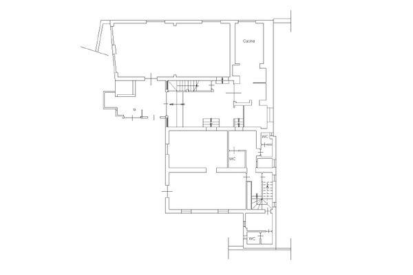 Immagine n2 - Planimetria - Piano terra - Asta 11858
