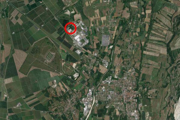 Immagine n1 - Planimetria - Vista aerea - Asta 11859