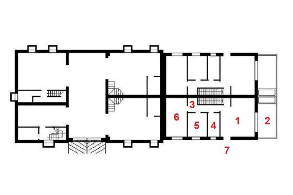 Immagine n0 - Planimetria - Piano interrato 1 - Asta 11894