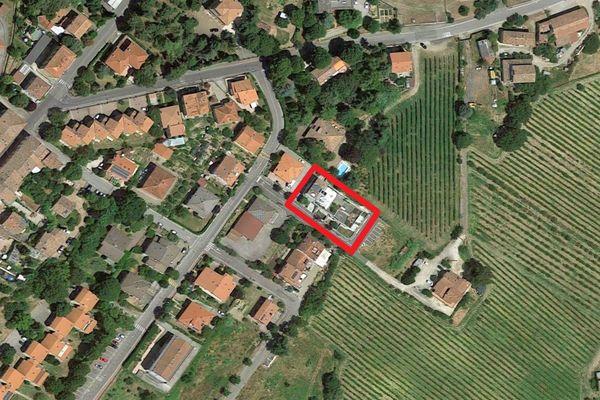 Immagine n0 - Planimetria - Vista aerea - Asta 11896