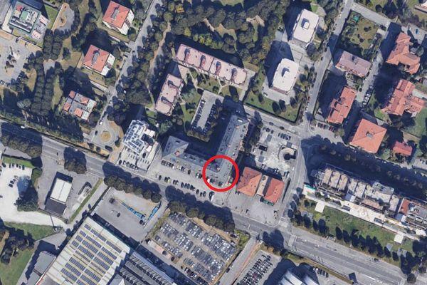 Immagine n1 - Planimetria - Vista aerea - Asta 11914