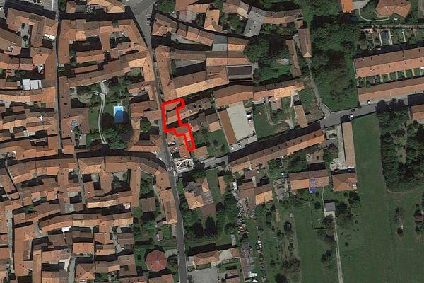 Immagine n0 - Planimetria - Vista aerea - Asta 11929