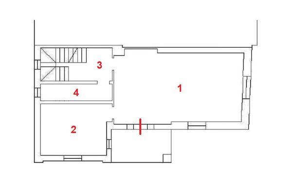Immagine n1 - Planimetria - Piano terra - Asta 11959