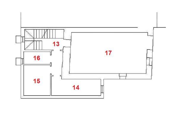 Immagine n3 - Planimetria - Piano interrato - Asta 11959