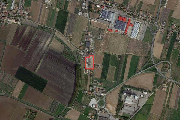 Immagine n0 - Planimetria - Vista aerea - Asta 1196