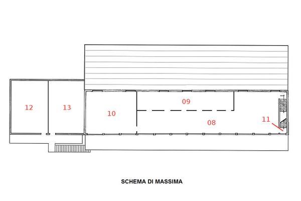 Immagine n5 - Planimetria - Piano primo - Asta 1196