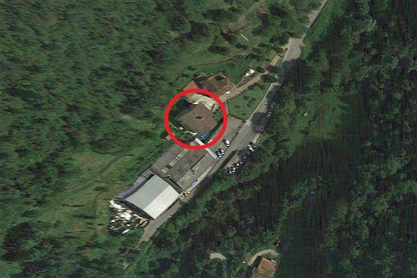 Immagine n1 - Planimetria - Vista aerea - Asta 11960