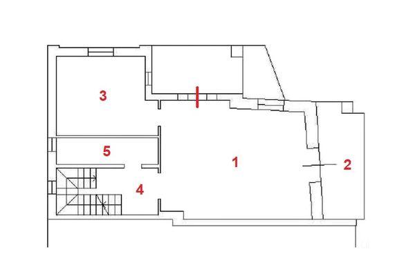 Immagine n1 - Planimetria - Piano terra - Asta 11960