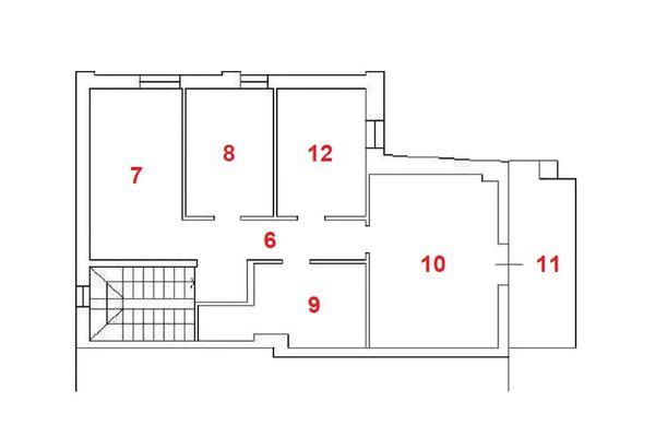 Immagine n2 - Planimetria - Piano primo - Asta 11960