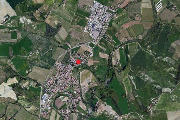 Immagine n0 - Planimetria - Vista aerea - Asta 1199