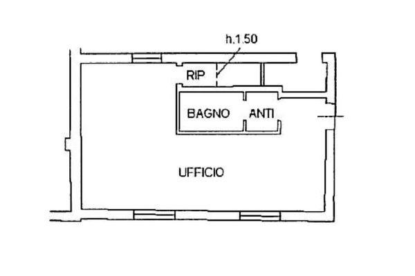 Immagine n1 - Planimetria - Piano terra - Asta 120