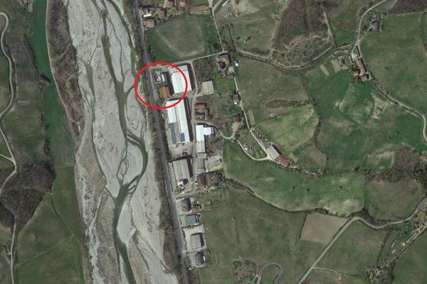 Immagine n0 - Planimetria - Vista aerea - Asta 12024