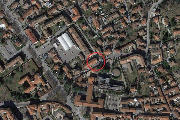 Immagine n0 - Planimetria - Vista aerea - Asta 12085
