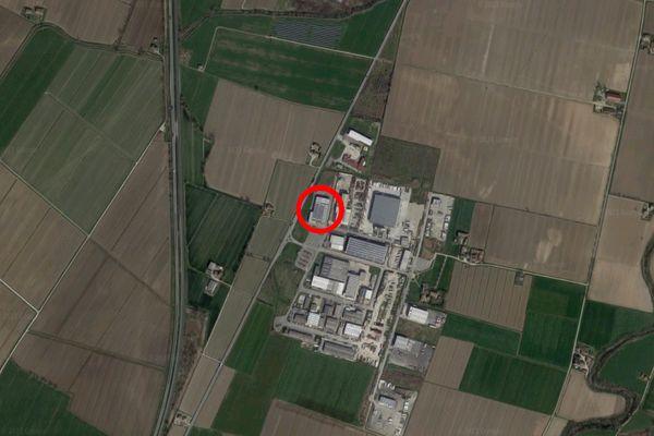 Immagine n2 - Planimetria - Vista aerea - Asta 12087