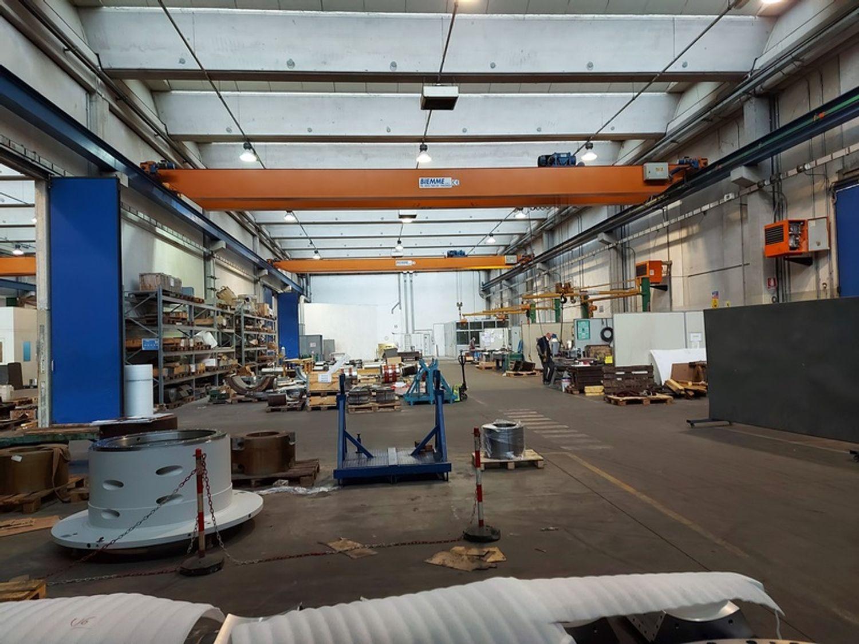 #12087 Porzione di complesso industriale con uffici in vendita - foto 8