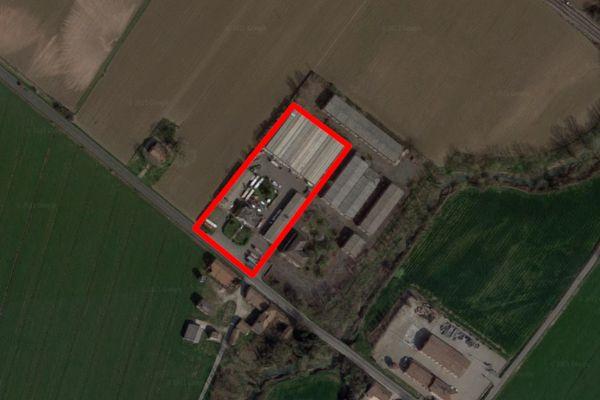 Immagine n5 - Planimetria - Vista aerea - Asta 12103