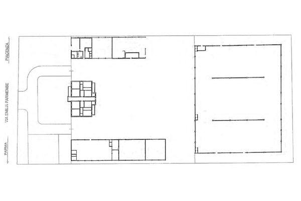 Immagine n1 - Planimetria - Piano terra - Asta 12103