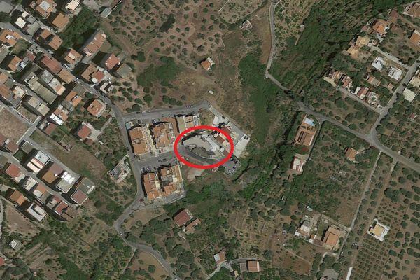 Immagine n0 - Planimetria - Vista aerea - Asta 12117
