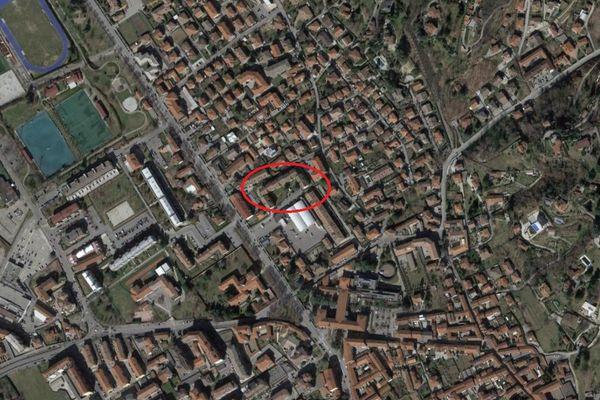 Immagine n0 - Planimetria - Vista aerea - Asta 12128