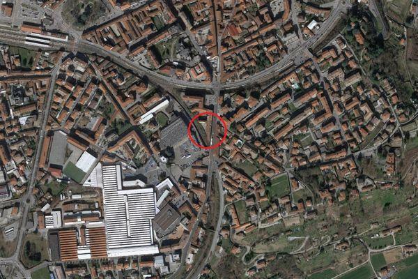 Immagine n0 - Planimetria - Vista aerea - Asta 12135