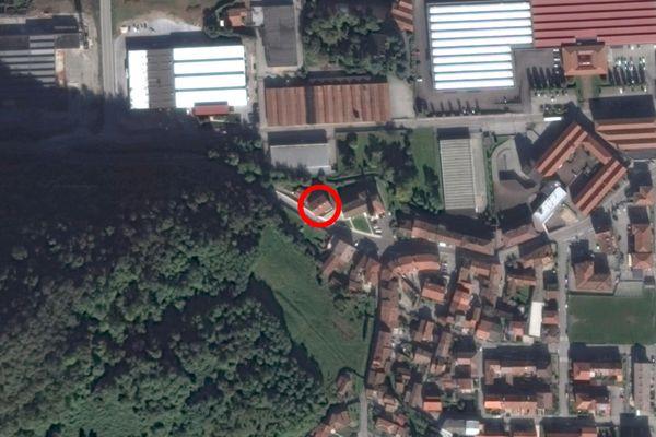Immagine n1 - Planimetria - Vista aerea - Asta 12180