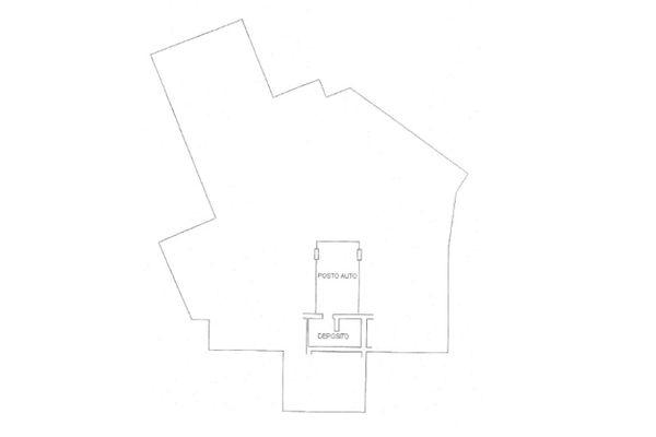 Immagine n1 - Planimetria - Piano interrato - Asta 12180