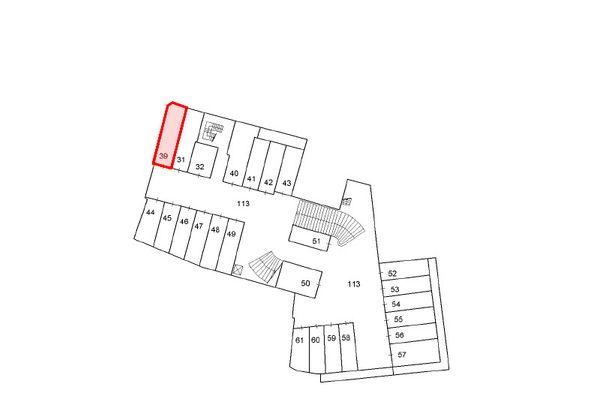Immagine n1 - Planimetria - Piano terzo interrato - Asta 12196