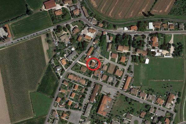 Immagine n0 - Planimetria - Vista aerea - Asta 12215
