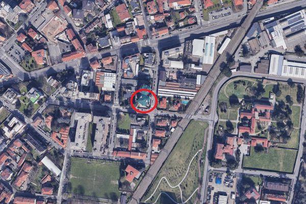 Immagine n0 - Planimetria - Vista aerea - Asta 12231