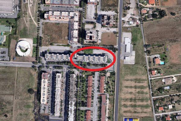 Immagine n0 - Planimetria - Vista aerea - Asta 12243