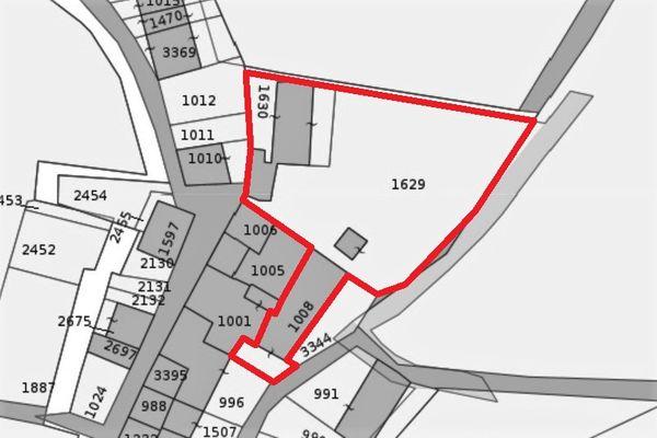 Immagine n1 - Planimetria - Estratto di mappa - Asta 12249