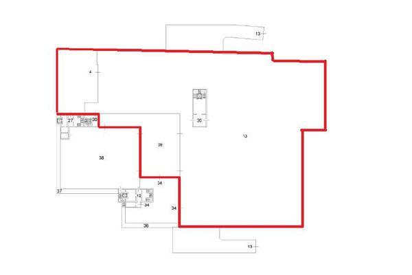 Immagine n1 - Planimetria - Piano interrato - Asta 12258
