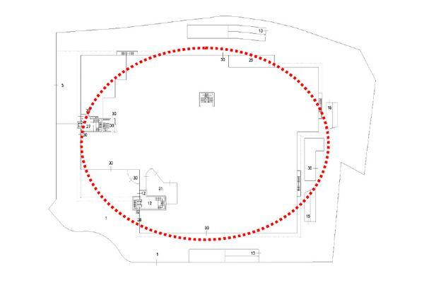 Immagine n2 - Planimetria - Piano terra - Asta 12258